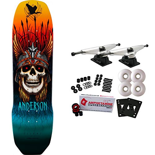 (Powell-Peralta Skateboard Complete Pro Flight 289 Andy Anderson 8.45