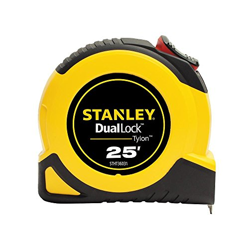 Stanley STHT36031S 25' DualLock Tape Measure - Locking Measuring Tape