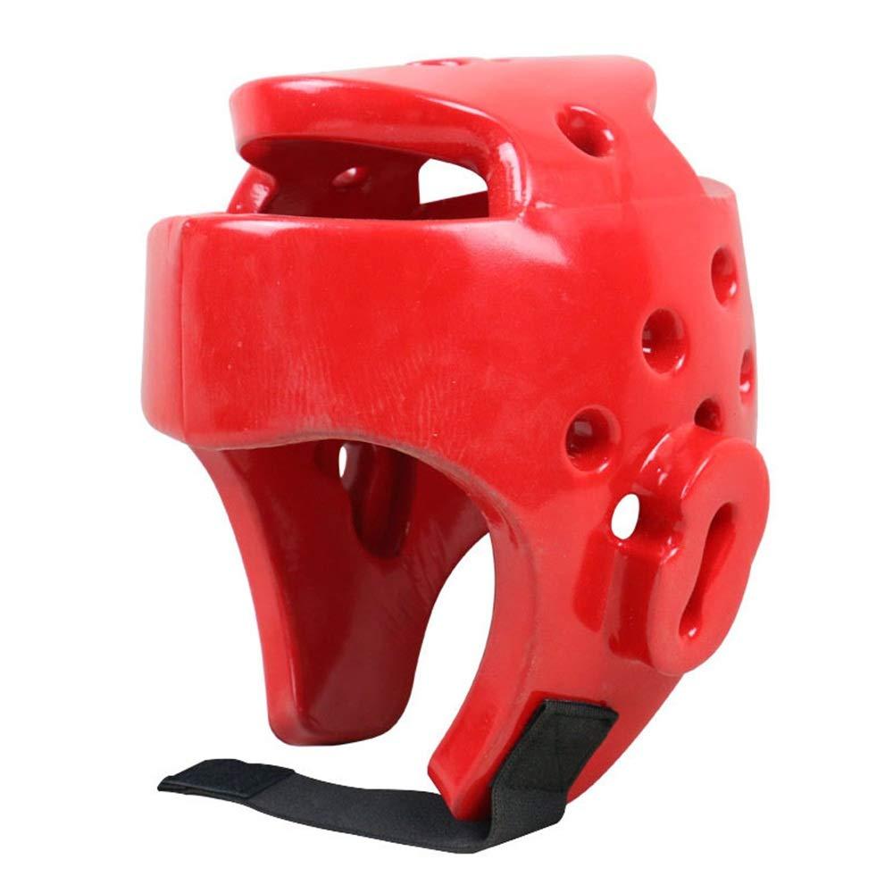 Gimitunus-SP Boxe pour Casque Protecteur Head Guard Boxing Headgear MMA Protector Couvre-Chefs Combat Casque de Combat Couleur : Bleu, Taille : L