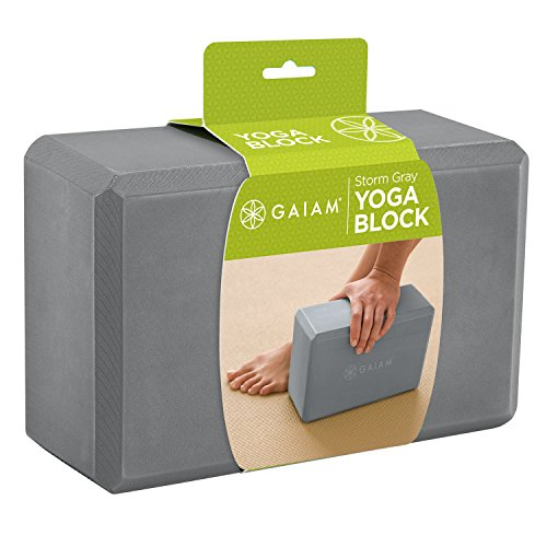 gaiam-yoga-block-storm-grey-bloc-de-gris-orage