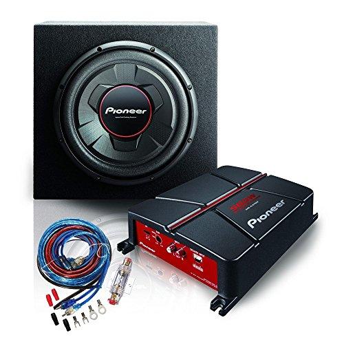 Pioneer Car Multimedia gxt-3706b-set Audio Amplifier Black