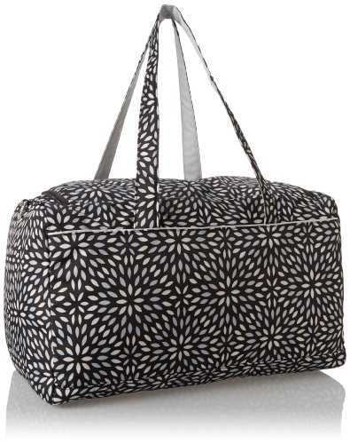 Ju-Ju-Be Super Star Large Travel Duffel Bag, Platinum Petals by Ju-Ju-Be (Image #2)