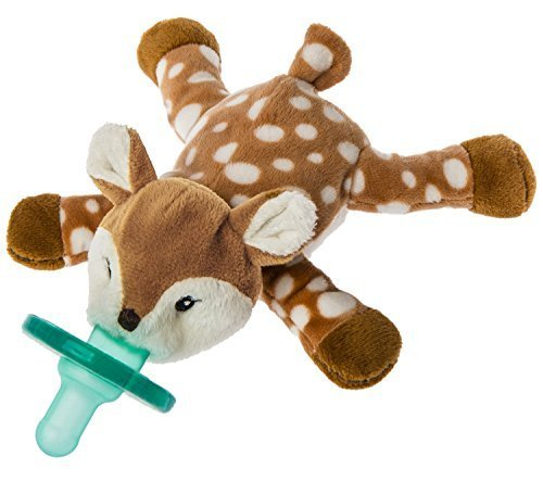Mary Meyer WubbaNub Infant Pacifier ~ Amber Fawn by Mary Meyer