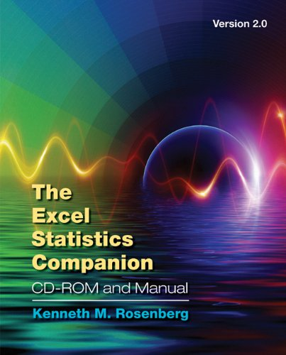 The Excel Statistics Companion CD-ROM and Manual, Version 2.0