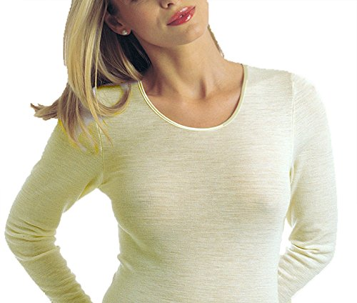Triumph Damen Unterhemd Shirt Compliment 15 SH04, Weiß (White (03)), Gr. 44