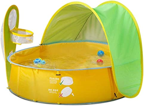 99AMZ Pop Up Bebés Beach Carpa de Piscina Piscina Infantil ...