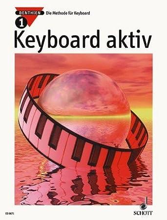 Der neue Weg zum Keyboardspiel Band 1 von Axel Benthin 1 Bleistift Musikmotiv