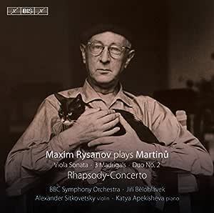 Maxim Rysanov Plays Martinu