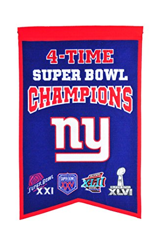 NFL New York Giants Super Bowl Champions Banner (Photo Nfl Football)