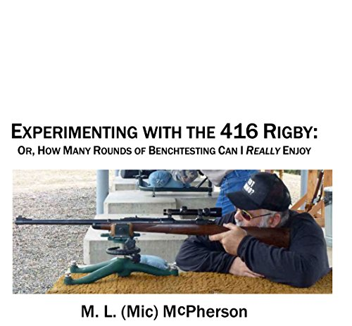 Experimenting With The 416 Rigby: Or, How Many Rounds Of Benchtesting Can I Really Enjoy?