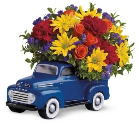 48 Ford Pickup   Mungho Floral  Gifts   More