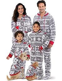 Onesie Nordic Fleece Matching Family Set, Gray
