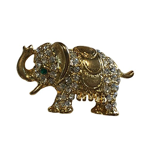 - Big, Bold and Beautiful Brooches and Pins Jewelry Collection, Crystal and Vintage Brooches (Lucky Elephant Brooch)