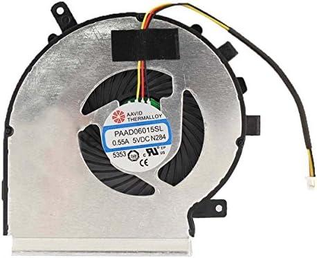 gotor® CPU ventilador refrigerador Fan para MSI GE62 ge72 pe60 ...