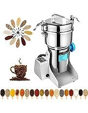 Marada 350g Pulverizer Grinding Machine Stainless Steel 25000 r/min Pulverizer Machine for Kitchen Herb Spice Pepper Coffee Powder Grinder (350g)