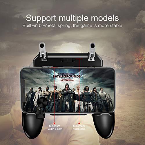 Mando a Distancia para m/óviles PUBG Mobile//Rules of Survival//Survivor Royale//Critical Ops para Android iOS WANGLAI etc