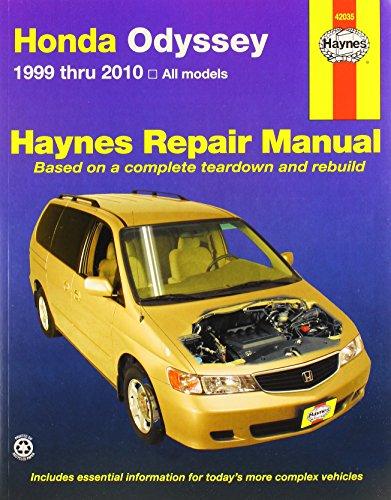 HAYNES 42035 HONDA ODYSSEY (Windy City Classic Cars)