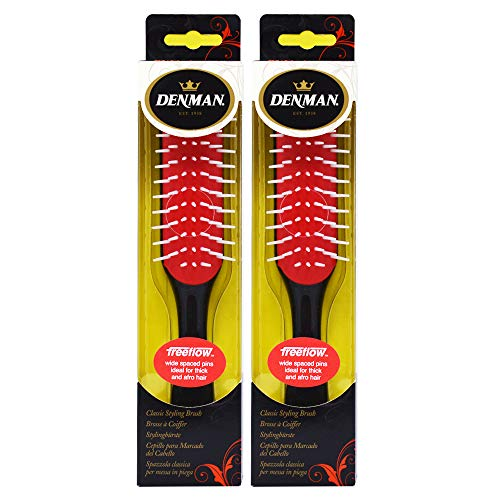 Denman D31 7-Row Medium Volumizing Brush (Pack of -