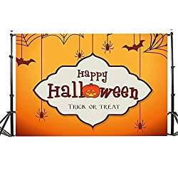 Dirance Halloween Theme Photo Backdrops 3x5ft, Photo Backgrounds for Photo Studio Weddings Party