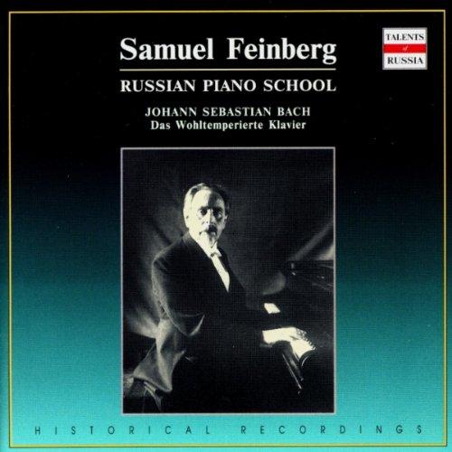 - Samuel Feinberg. Russian Piano School. Johann Sebastian Bach. Well-Tempered Clavier. Book 1 & 2 (4