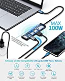 Hiearcool USB C Hub, MacBook Pro Adapter USB C