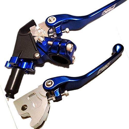 (Yamaha ATV Lever Set Clutch Brake Blue YFZ450 2004 2005 2006 YFM700 2006 ONLY)