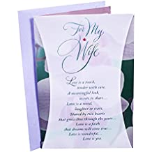 Hallmark Birthday Greeting Card to Wife (Orchid Photo)