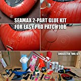 Seamax Commercial Grade 2 Part Marine Adhesive for
