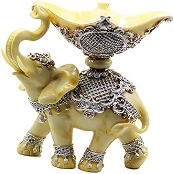 Skulpturen Bilder, Poster, Kunstdrucke & Skulpturen 2 Pack Simulated Woodgrain Elephant Statue Resin Animal Sculpture Artwork Home Table Art Decor Modern Desktop Figurines Office Car Decoration,S