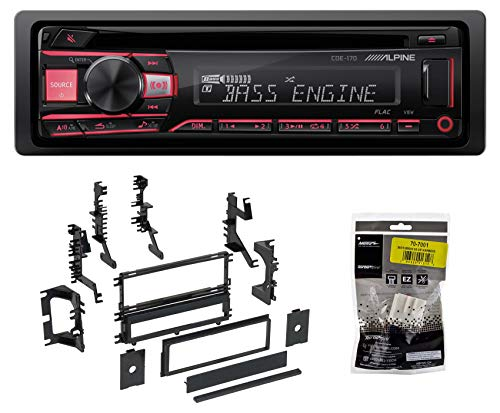 Alpine CD Receiver Stereo Android/MP3/WMA/USB/AUX 0004 Mitsubishi Montero Sport