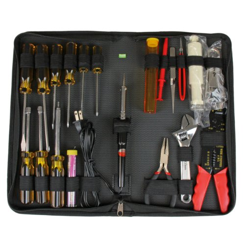 1 Startech Computer (StarTech.com 19-Piece Computer Tool Kit with Carrying Case (CTK500))