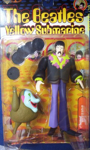 "The Beatles Yellow Submarine JOHN LENNON with Jeremy 8"" Action Figure (1999 McFarlane)"