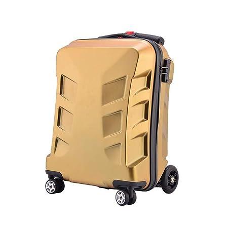 a065884660da 20 Inch TSA Lock Scooter Luggage Aluminum Suitcase With Wheels ...