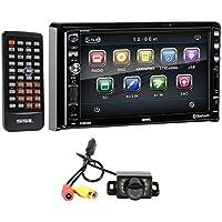 SOUNDSTORM DD889 7 In-Dash DVD/CD Player Receiver w/ Bluetooth/USB/MP3+Camera