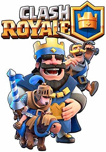 SUDADERA Clash Royale Rey (9-10 AÑOS, Azul)