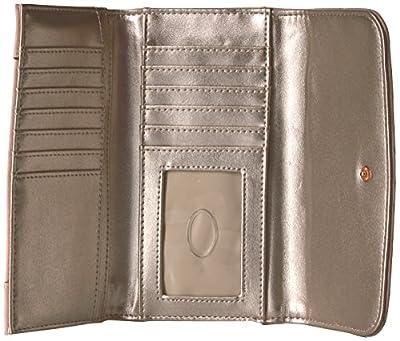 GUESS Huntley Blush Slim Clutch Wallet