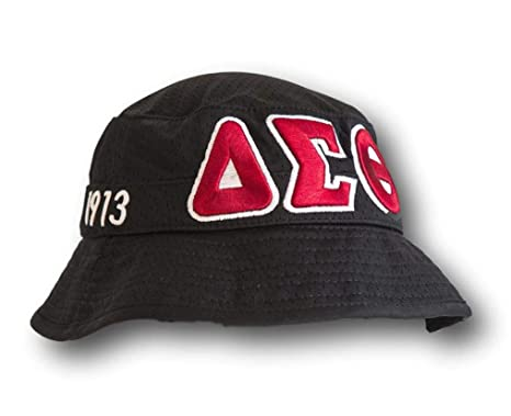 Image Unavailable. Image not available for. Color  Delta Sigma Theta  Sorority Black Floppy Bucket Hat ef5123737b3a