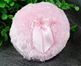 Topwon 3.5'' Soft Dusting Powder Puff Pink - Large Size (2 Pcs)