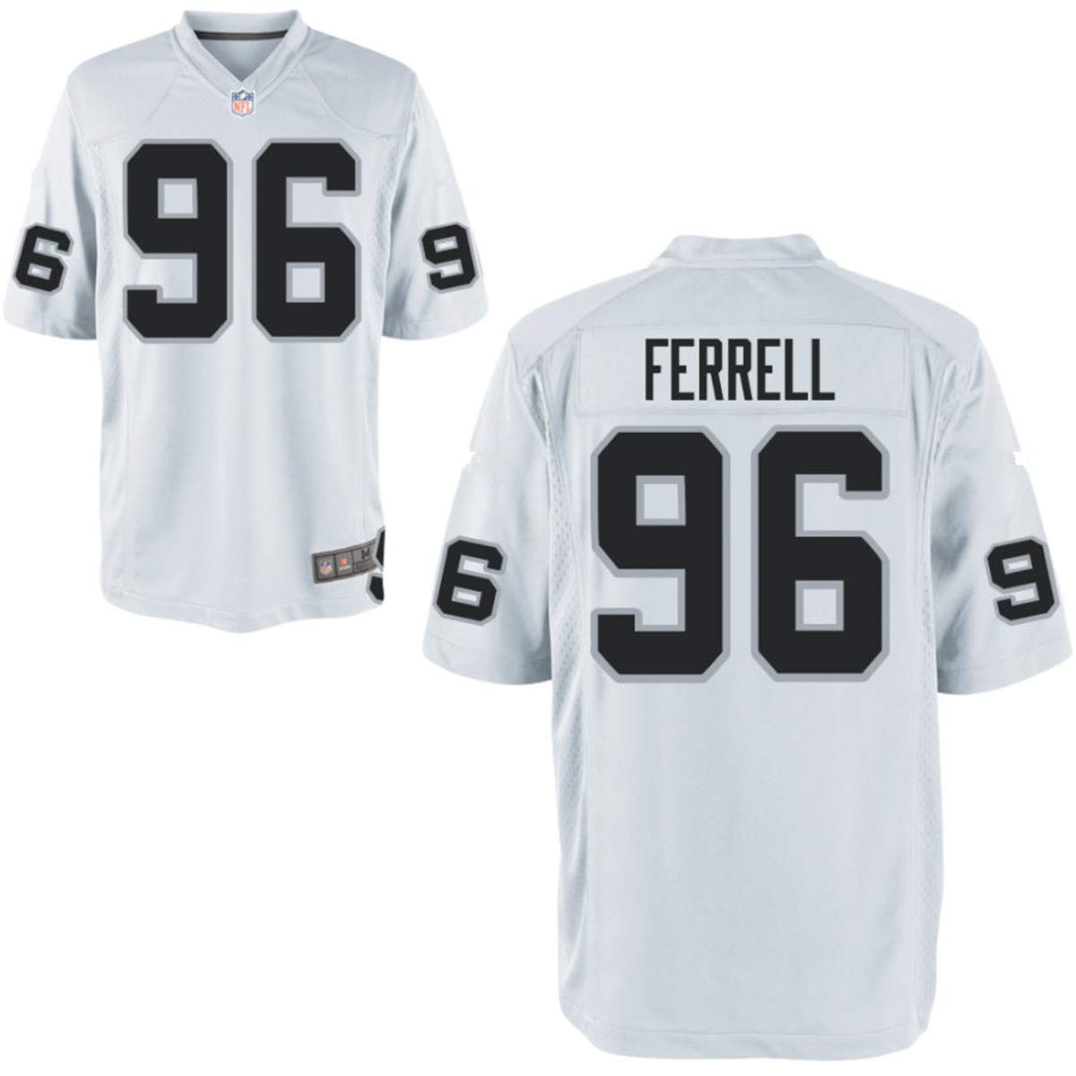 outlet store dd01b 21e06 Amazon.com: Men's Oakland Raiders #96 Clelin Ferrell NFL ...