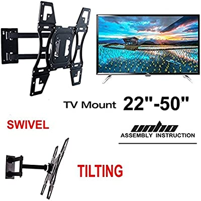 Soporte de pared para televisor Unho 22-50 pulgada para SAMSUNG ...