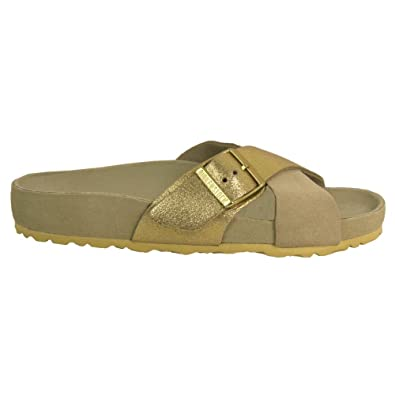 71b3b45b22e7d6 BIRKENSTOCK Sandal - Siena - 1008527 37 Taupe  Amazon.de  Schuhe ...