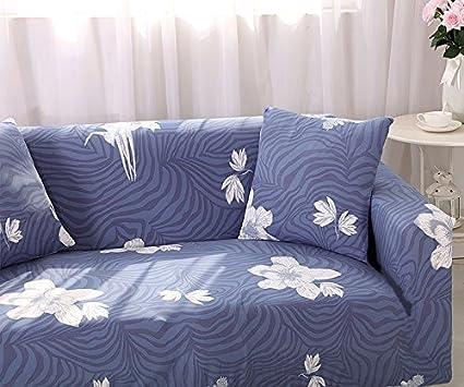 deplas97 funda para sofá poliéster Spandex tela suave color ...