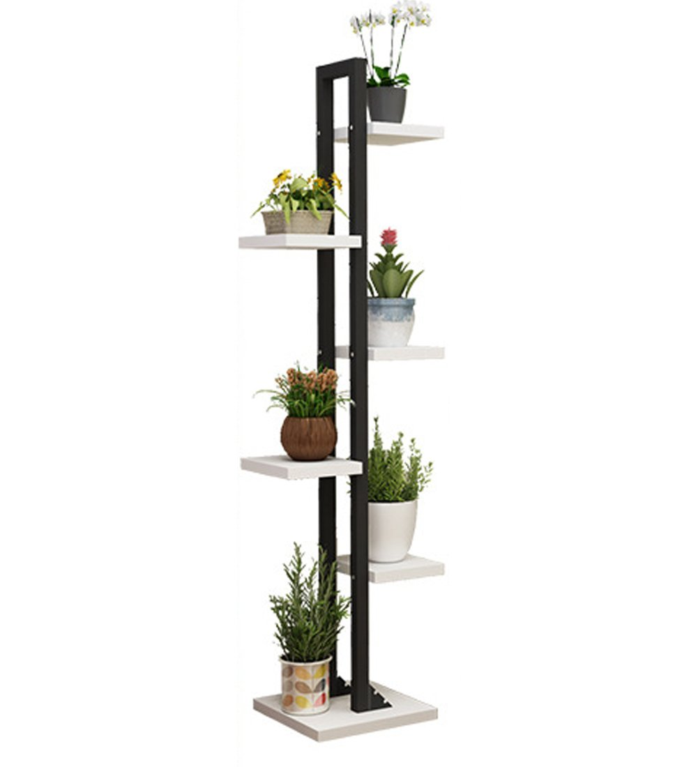 YE Stand di fiori Balcone in Legno massello a 5 Strati 4 Colorei Durevole (colore   C)