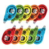 Fullmark Model P Correction Tape, 0.2'' X 472'' each, 10-pack