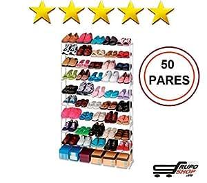 Mueble zapatero 50 pares ikea estanteria de zapatos for Armario para zapatos