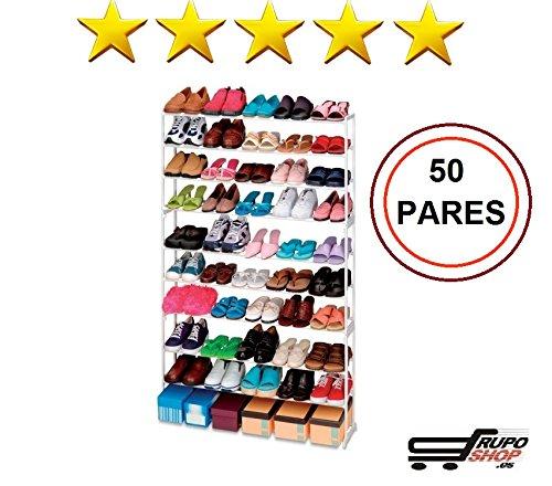 Mueble Zapatero 50 Pares ikea │ Estanteria de Zapatos │ Armario para zapatos Organizador barato /®