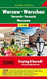 Warsaw, Poland - City Pocket Map + The Big Five (English, French, Italian and German Edition)