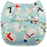 Blueberry Diapers Simplex One Size Snap (Frosty)