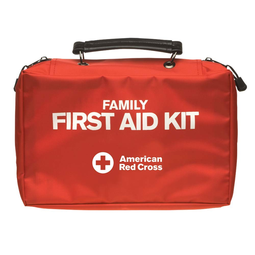American Red Cross Deluxe Family First Aid Kit 100+ Items