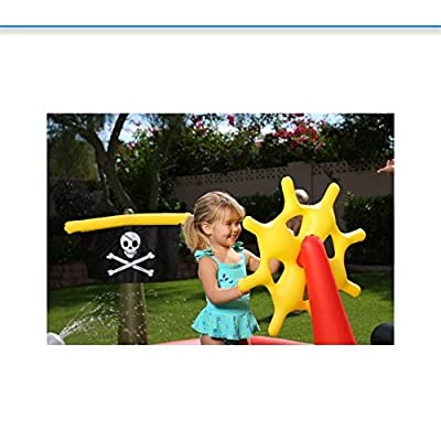 H2OGo Pirate Play Pool 6.2 Feet x 55 Inches: Toys & Games